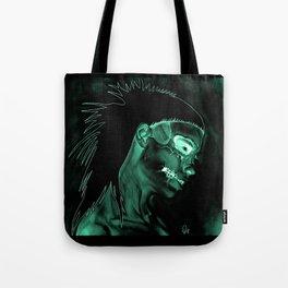 Inverted Yolanda zombie girl Tote Bag