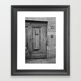portals .:. firenze Framed Art Print