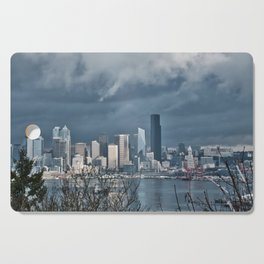 Seattle's shades of gray Cutting Board