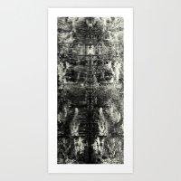 jenny's reflection Art Print