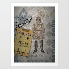 Vaquero Del Spacio Art Print