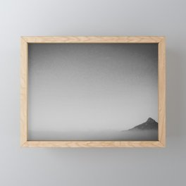 The best view comes after the hardest climb Framed Mini Art Print