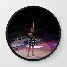 Glee Concert: Lea Michele Wall Clock