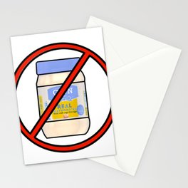 NO MAYO Stationery Cards