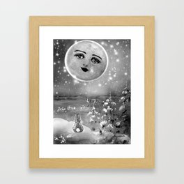 DINNER DATE -  DATE NIGHT ON VALENTINE'S DAY|LOVE| GALAXIES|PAST HISTORY|UNIVERSE| Framed Art Print