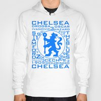 chelsea Hoodies featuring Chelsea Mix by Sport_Designs