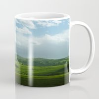 kendrick lamar Mugs featuring lamar valley by Sarah Stewart