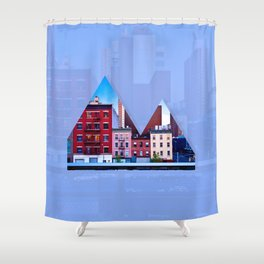 Reykjavik Boulevard #06 Shower Curtain