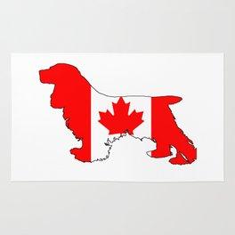Canada Cocker Spaniel Rug