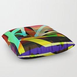 Rectilinear design Floor Pillow