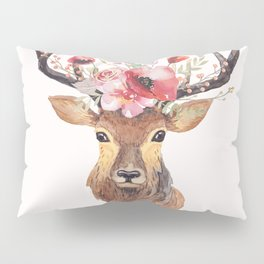 Bohemian Deer Pillow Sham