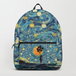 Banksy the baloons girl starry night iPhone 4 5 6 7 8, pillow case, mugs and tshirt Backpack