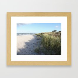 Dünen Framed Art Print