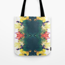 Summer Bouquet Psychedelia 2012 Tote Bag