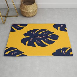 Gold Palm Rug