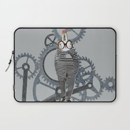 Time Cons Time Rabbit Laptop Sleeve