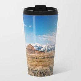 The Grand Tetons Metal Travel Mug