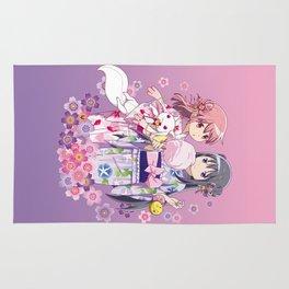 Madoka Kaname & Homura Akemi - Love Yukata edit. Rug