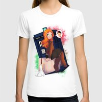 amy pond T-shirts featuring Doctor Who - Amy Pond by Lucy Fidelis