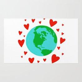Love the Earth, Save the Earth Rug
