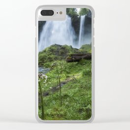 Sahalie Falls No. 2 Clear iPhone Case