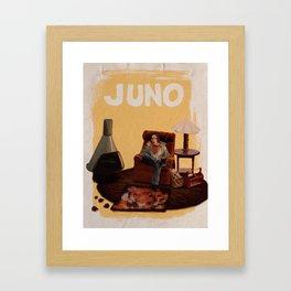juno alternative poster Framed Art Print