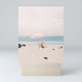 Beach Morning II Mini Art Print