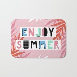 Enjoy summer Bath Mat