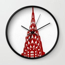Chrysler Building Wall Clock