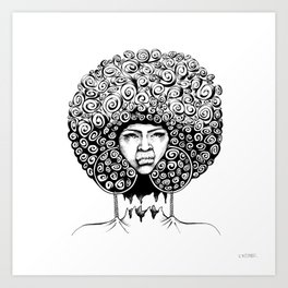 To & Fro Art Print