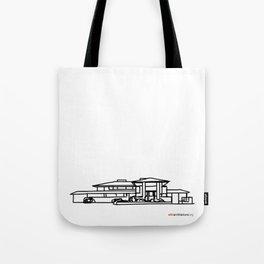 Robie House - Frank Lloyd Wright Tote Bag