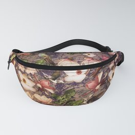 Magnolias and Hummingbirds Fanny Pack