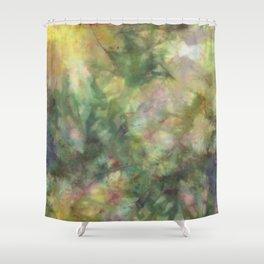 Deep Green Jungle Shower Curtain