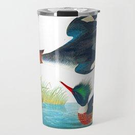 Red-breasted Merganser Bird Travel Mug