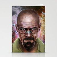 heisenberg Stationery Cards featuring Heisenberg by Isabella Morawetz