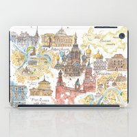 russia iPad Cases featuring From Russia With Love  by Jess Stewart-Croker