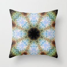Space Mandala no7 Throw Pillow