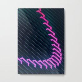 Data Stream Metal Print