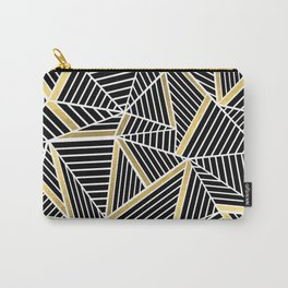 Ab Lines 2 Gold Carry-All Pouch