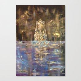 Throne Room, 2012 Canvas Print