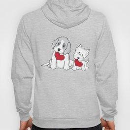 Valentine's Day Dogs Hoody