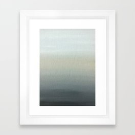 Gray Horizon  Framed Art Print