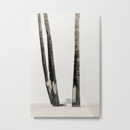 three palms   venice, ca Metal Print