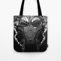 pilot Tote Bags featuring Master Pilot by MORPHEUS