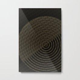 Geometry Circle N.4 Metal Print