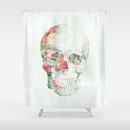 Skull Bouquet Shower Curtain