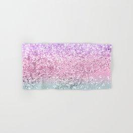 Unicorn Girls Glitter #7a #shiny #pastel #decor #art #society6 Hand & Bath Towel