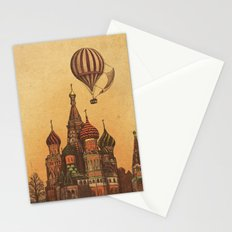 Moving to Moscow Stationery Cards