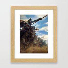 Crusades Framed Art Print