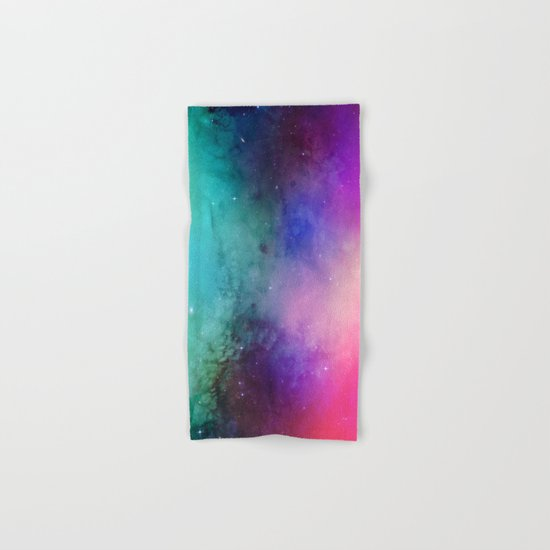 Mystical azure galaxy Hand & Bath Towel